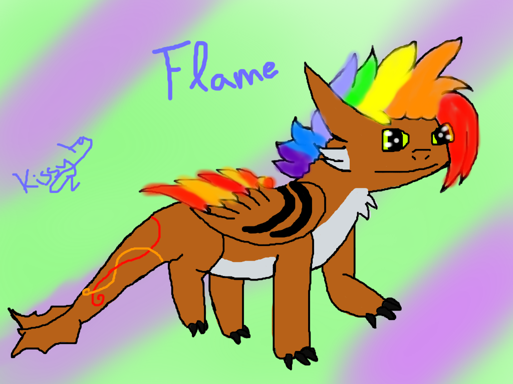 She's Flame :D by Candy.