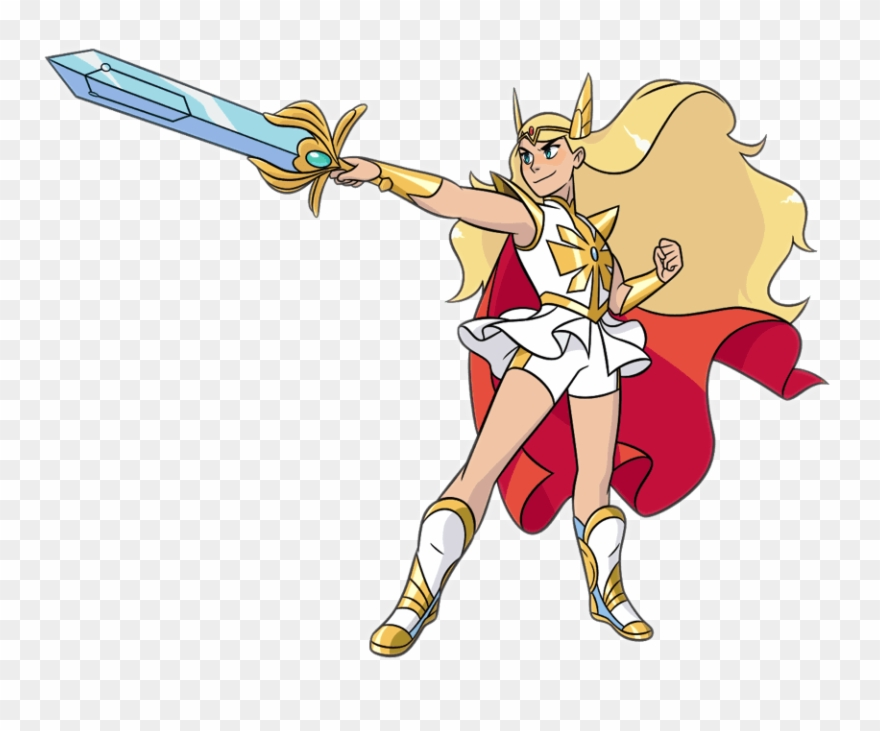 Adora, Also Known As She Ra, Is The Main Titular Protagonist.