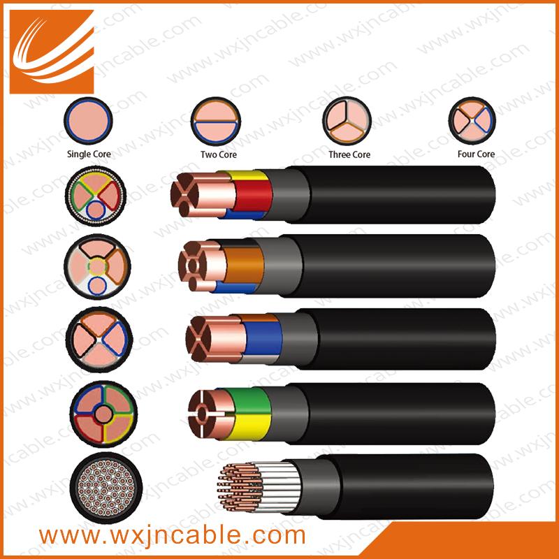 0.6/1KV,CU XLPE Polyolefin LSZH Cable.