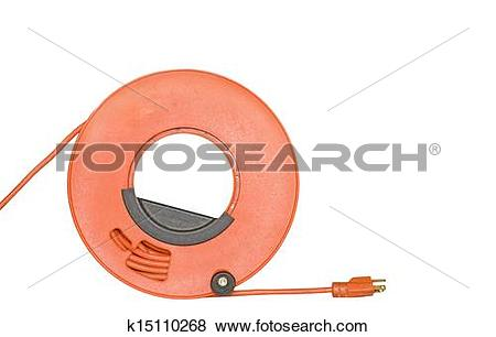 Pictures of Rolled up sheathed electric cable for home or office.