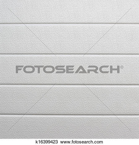 Stock Photo of White plastic wall sheathing cover k16399423.