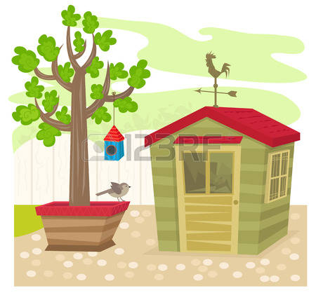 Shed Tree Stock Photos & Pictures. Royalty Free Shed Tree Images.