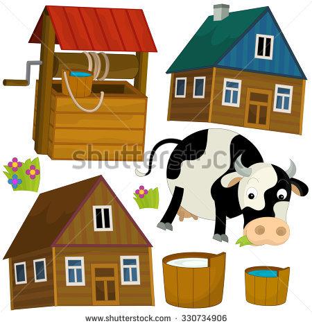 Cartoon Dog House Vector Clip Art Stock Vector 115336528.