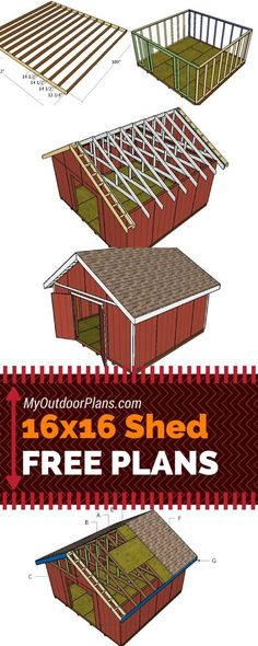 Learn How to Build a Shed With These Plans.
