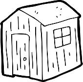 Shed Clip Art.