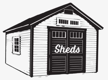 Free Shed Clip Art with No Background.