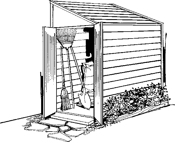Free Shed Clipart Black And White, Download Free Clip Art.
