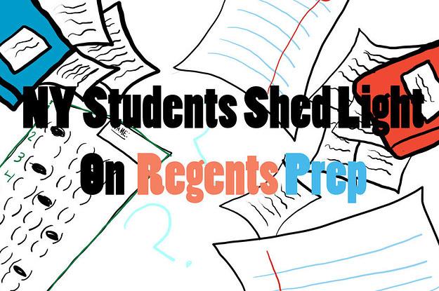NY Students Shed Light On Regents Prep.