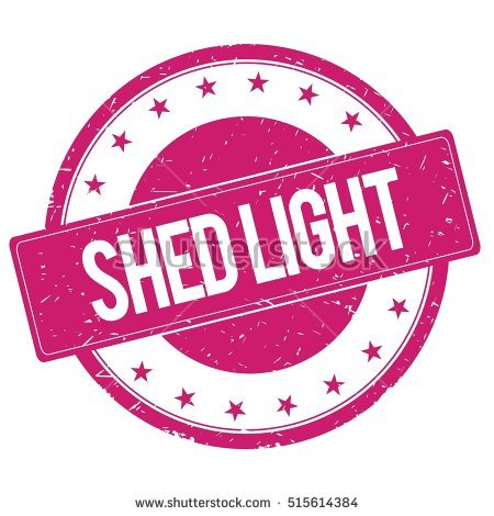 Shed Light Stock Photos, Royalty.