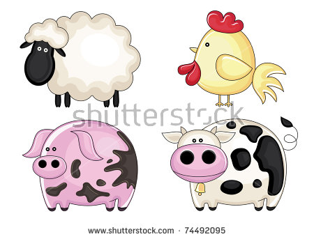 Sheep With A Bell Stock Photos, Royalty.