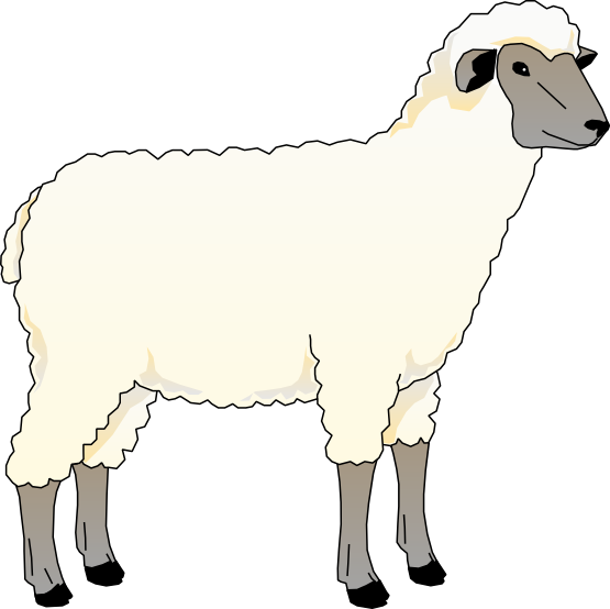 Lamb Animal Clipart.