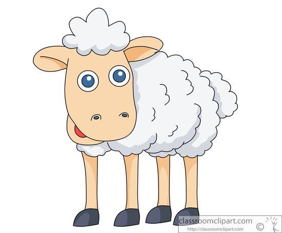Cartoon animals clipart sheep.