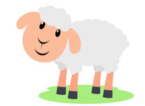 Free Sheep Clipart.