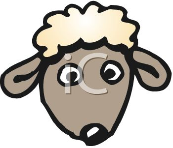 Clipart Lamb Faces