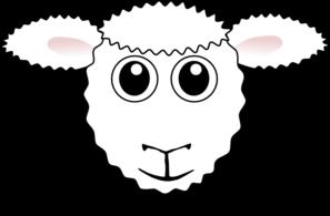 Face Sheep Clipart.
