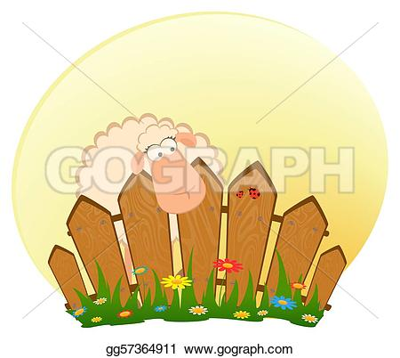 cartoon fence clipart #17