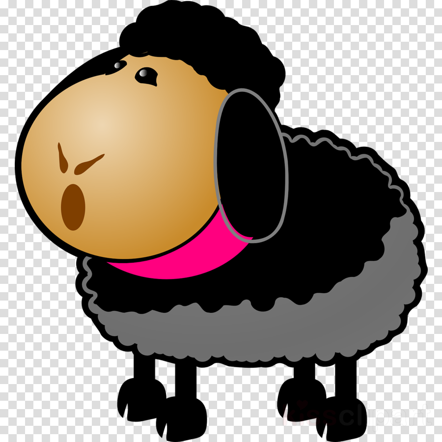 Sheep Cartoon clipart.