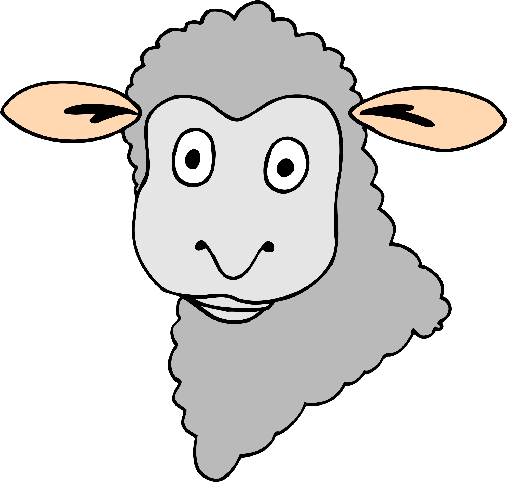 Sheep hat network clipart #13