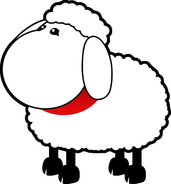 Sheep No Mouth Clip Art at Clker.com.