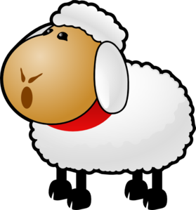 talking mouth clipart sheep talking #md.