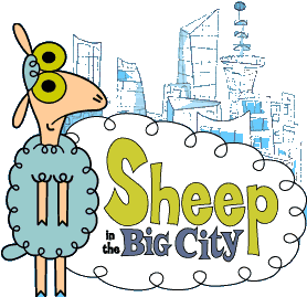 Sheep in the Big City.