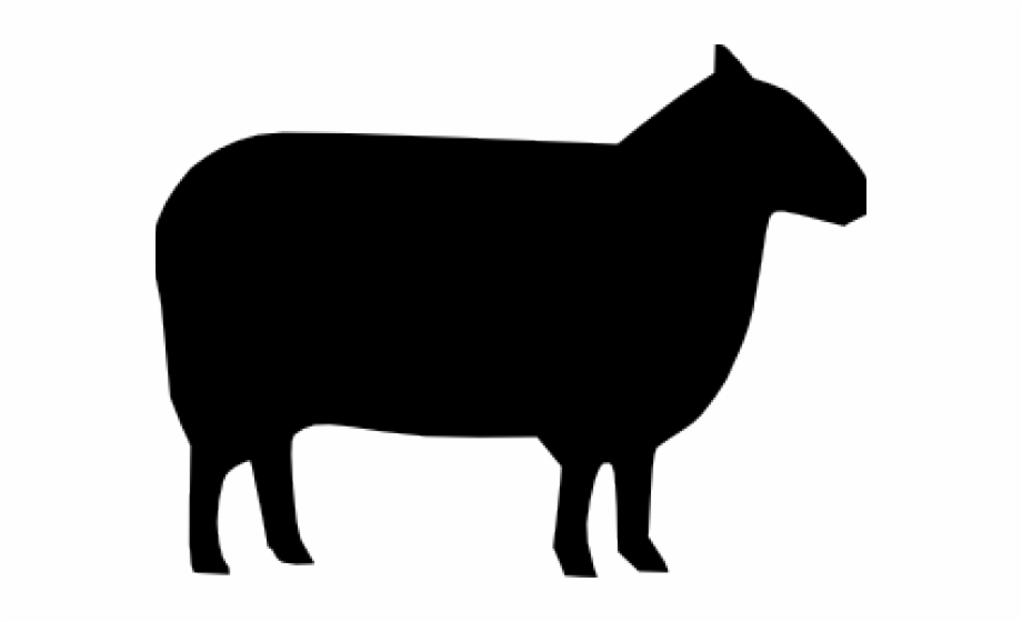 Lamb Clipart Silhouette.