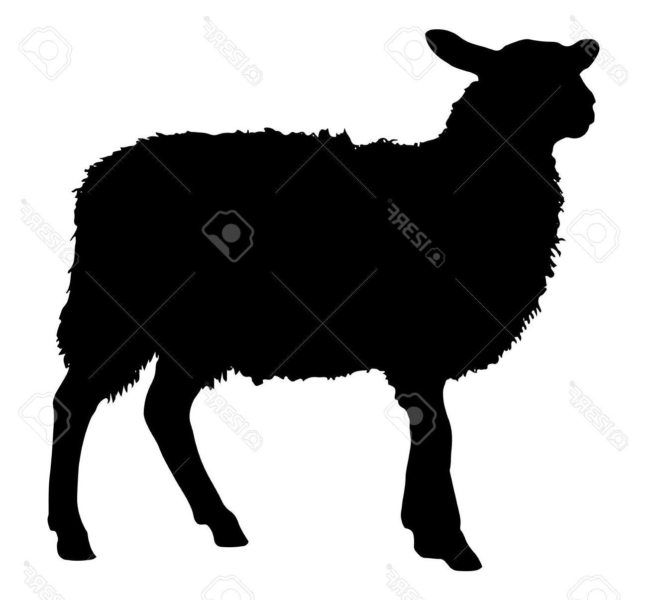 Unique Sheep Silhouette Clip Art Free Photos » Free Vector.