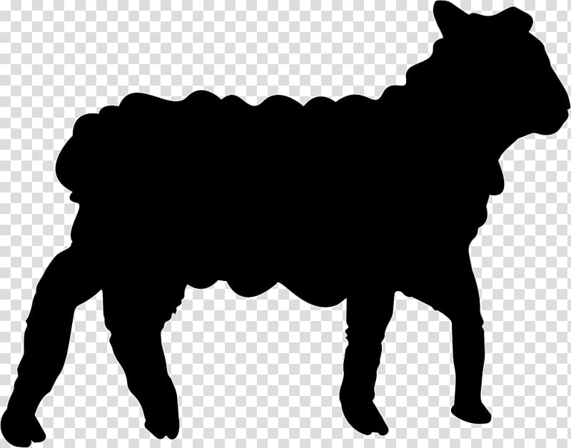 Sheep Goat Lamb and mutton Silhouette, sheep transparent.