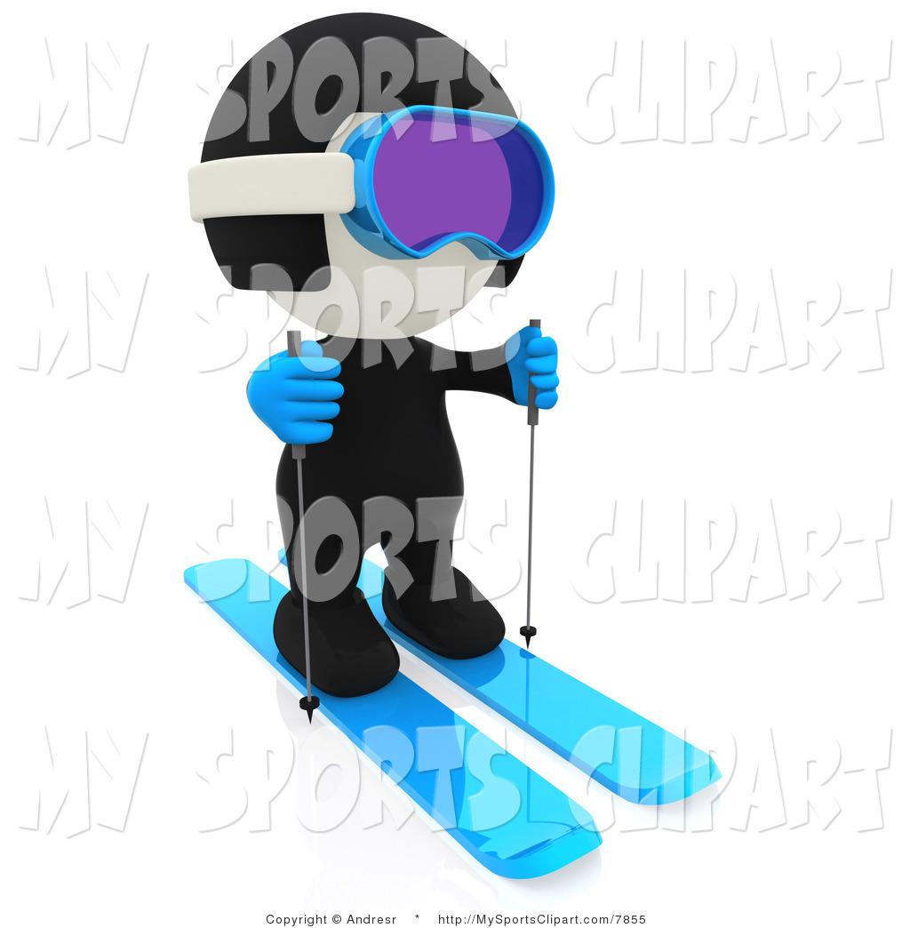 Royalty Free Ski Stock Sports Designs.