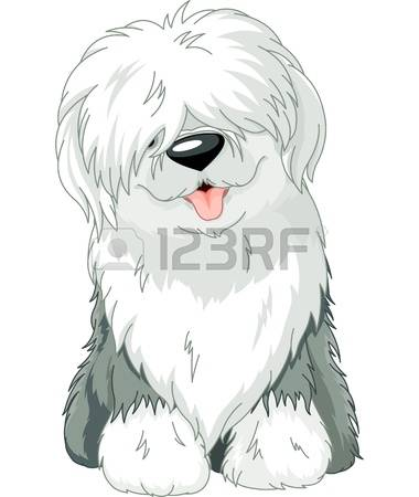 698 Sheepdog Stock Vector Illustration And Royalty Free Sheepdog.