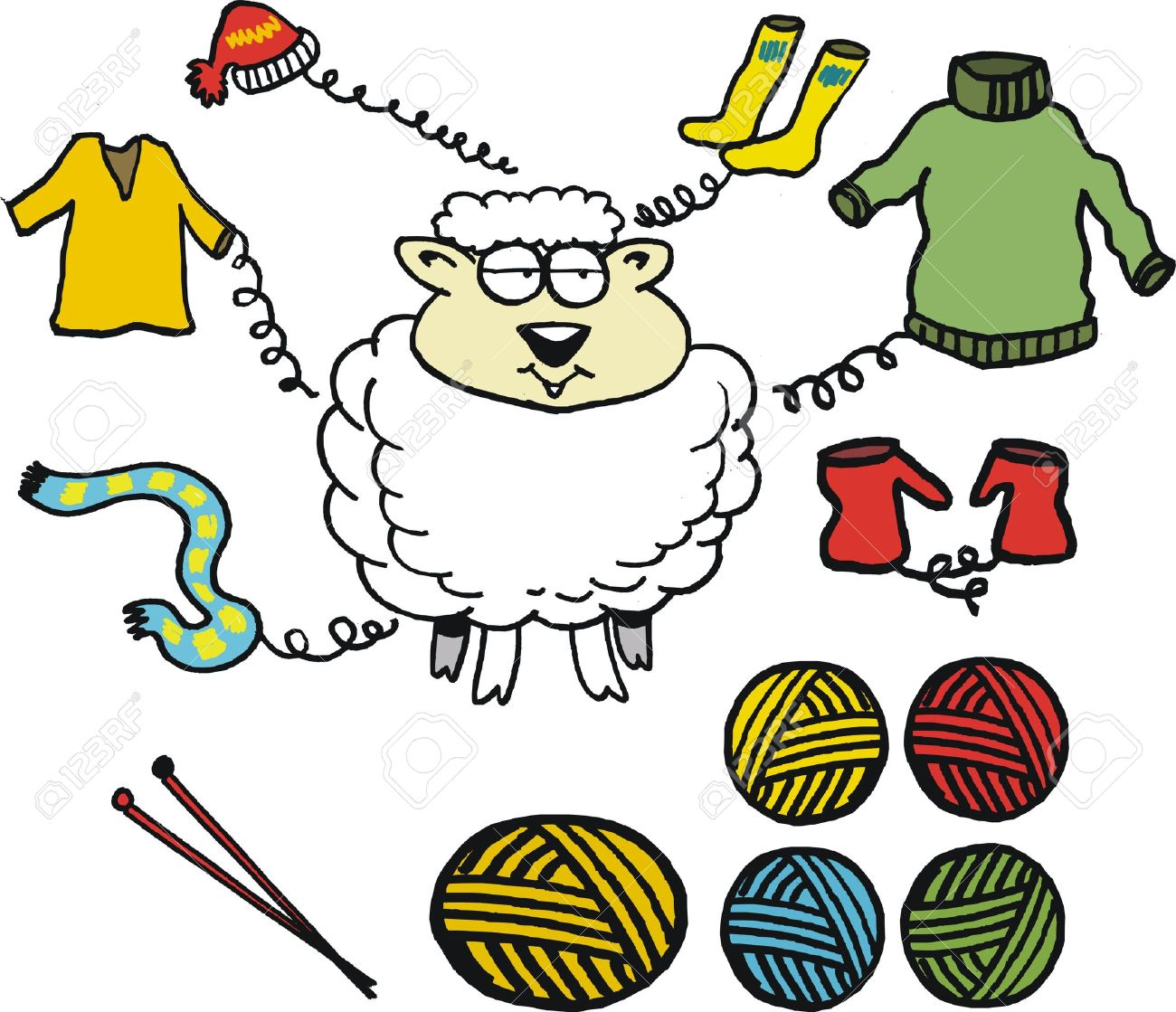 6,883 Sheep Wool Stock Illustrations, Cliparts And Royalty Free.