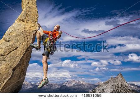 Sheer rock wall clipart #2