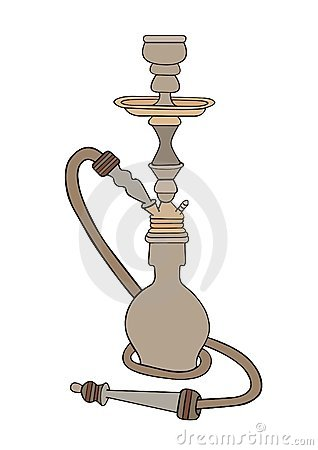 Shisha Stock Illustrations.