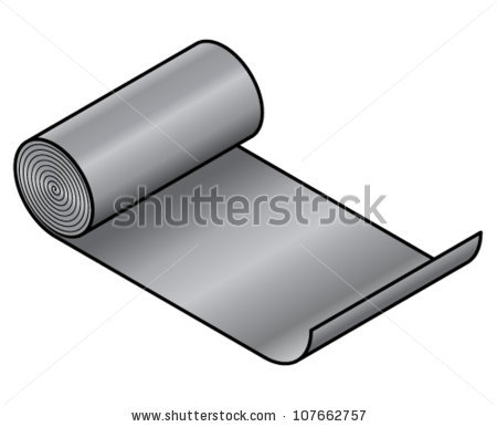 Metal Roll Stock Photos, Royalty.