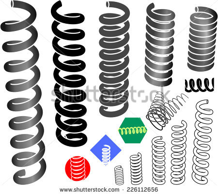 Metal Coil Stock Photos, Royalty.