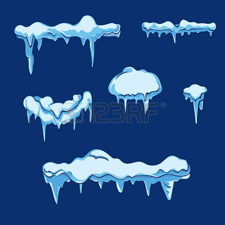 Ice sheet over water clipart.