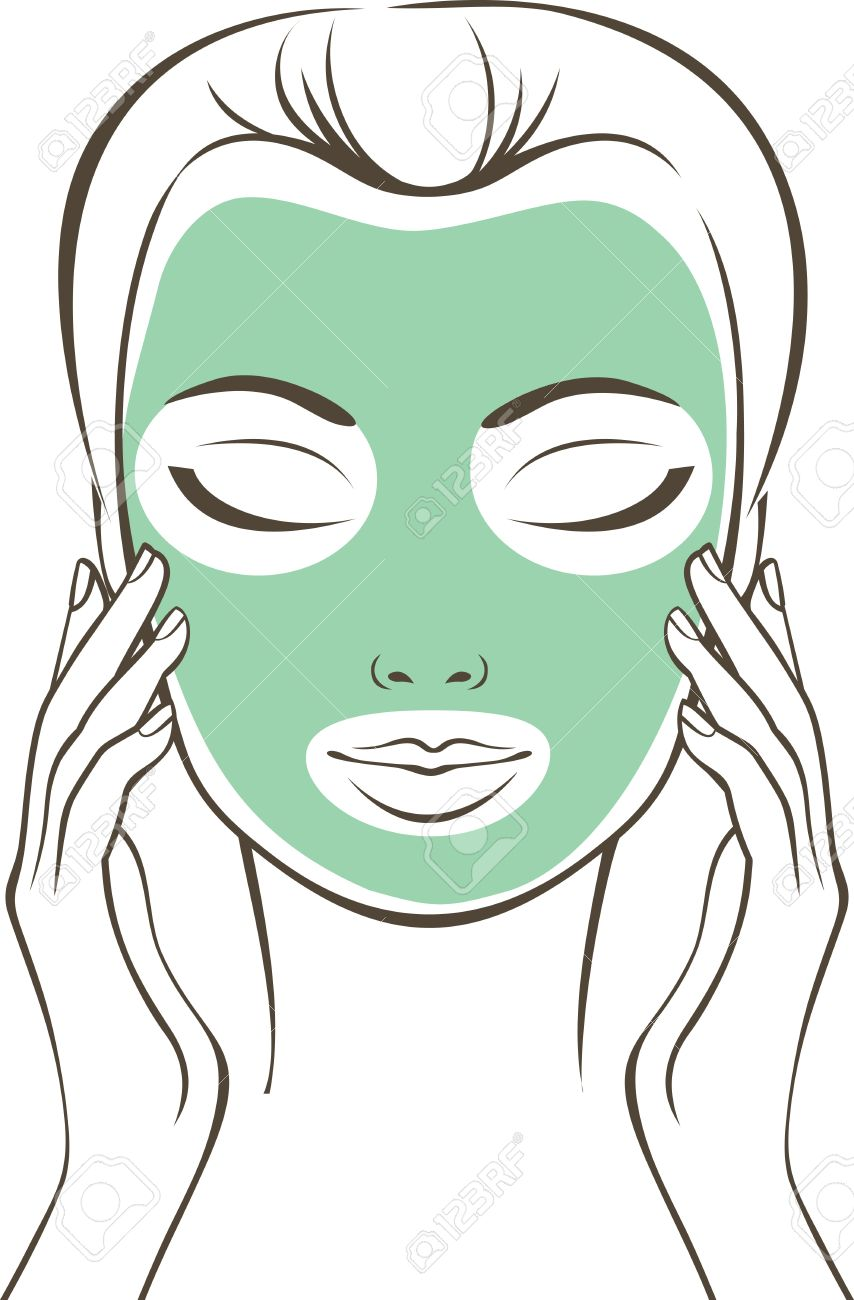 Face Mask Drawing at GetDrawings.com.