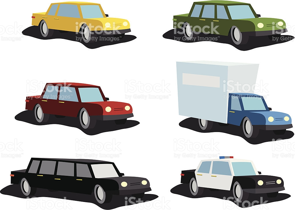Cartoon Cars Set Stock Vector Art 136616227