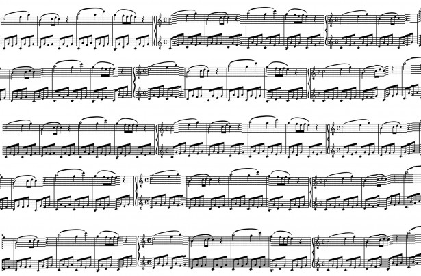 Free Sheet Music Clipart.