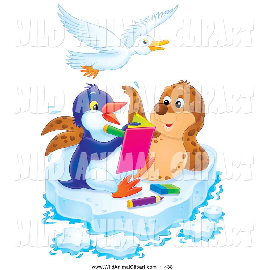 Royalty Free Penguin Stock Wildlife Designs.