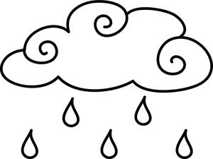 Rain Clouds Color Sheet.