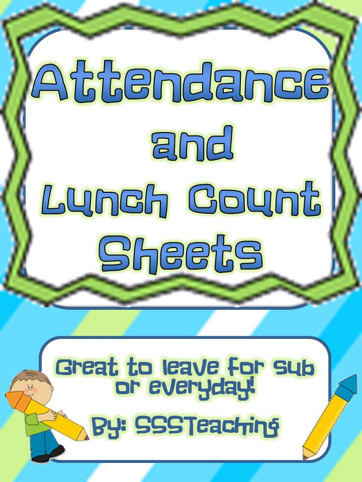 Lunch count clipart.