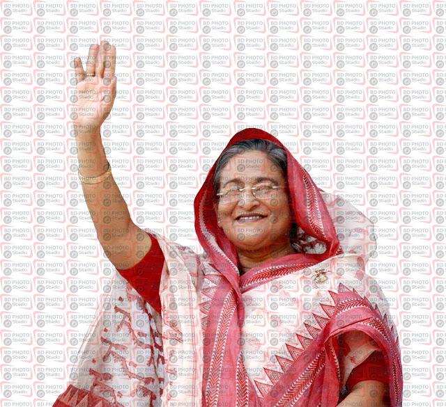 Sheikh Hasina.