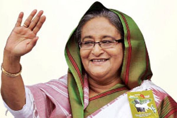 PM Sheikh Hasina visit to Sylhet today for poll campaign.