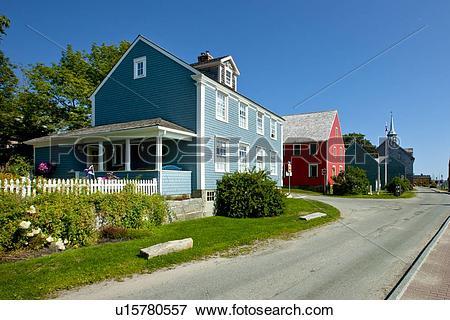 Picture of Shelburne Waterfront Heritage District, Shelburne, Nova.