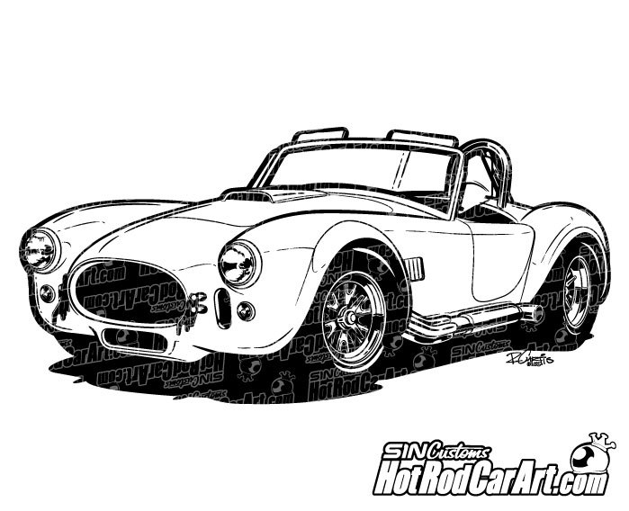 Shelby Cobra Clipart Clipground