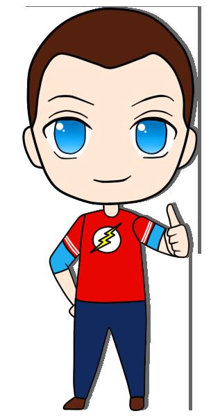 Sheldon Cooper Chibi by XionGema on DeviantArt.