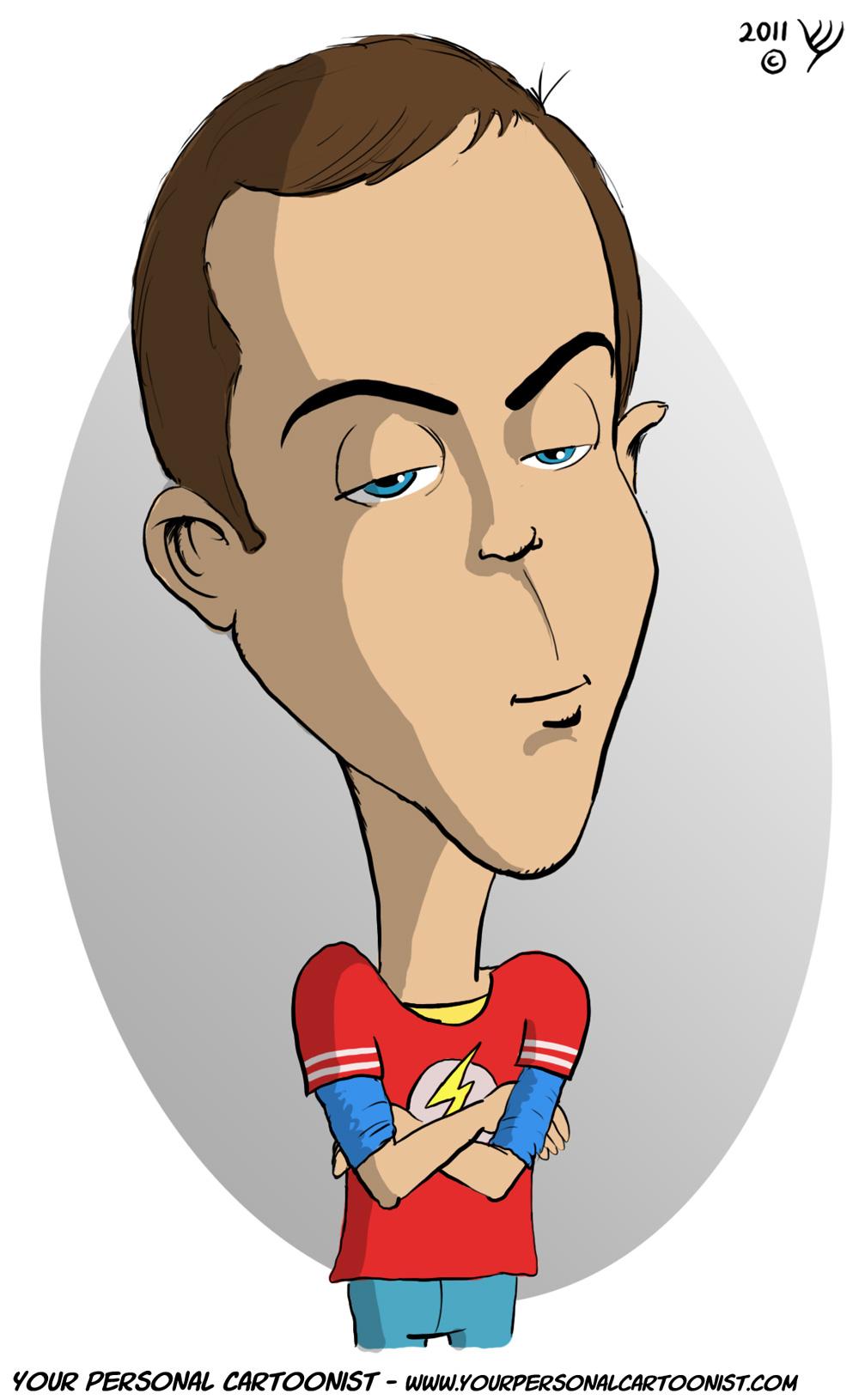 Clipart Sheldon Cooper.