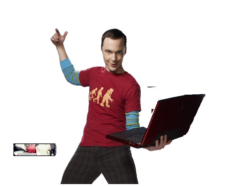 Sheldon cooper clipart.