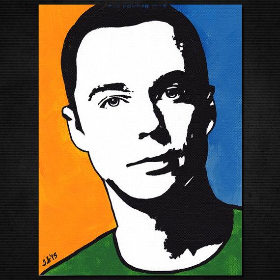 Sheldon Big Bang Theory Clip Art Photo.